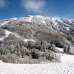 Canada, Gîte La Tremblante, paysage hivernal 3