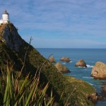 Lighthouse at Nugget Point (Ka Tokata), Catlins, New Zealand