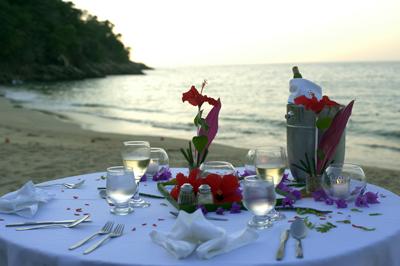 Diner_plage_Majahuitas_Resort