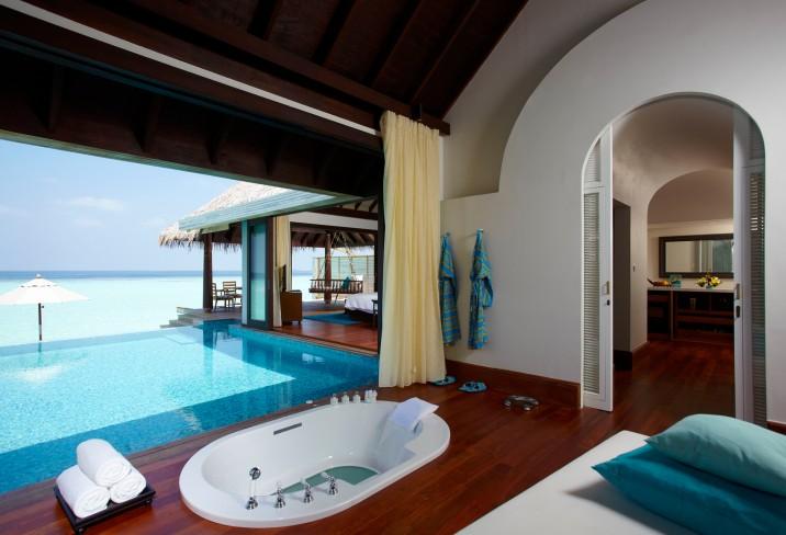 Préférence Les plus beaux hôtels romantiques: Hôtel Anantara Kihavah Villas  DK79