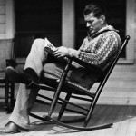 Portrait of Gene Tunney Reading