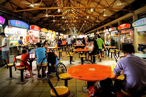 hawker-centres-de-Singapour