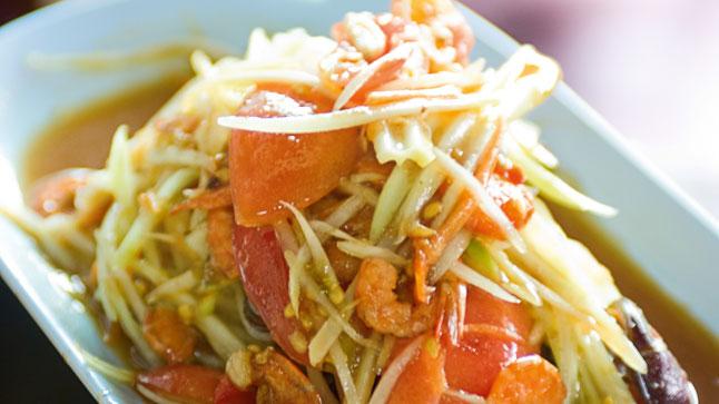 salade-de-papaye-verte